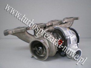Turbosprężarka BorgWarner KKK_53049880049_ 53049700049_ 5860018