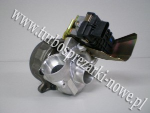 Turbosprężarka GARRETT_724496-0002_ 724496-0004_ 724496-2