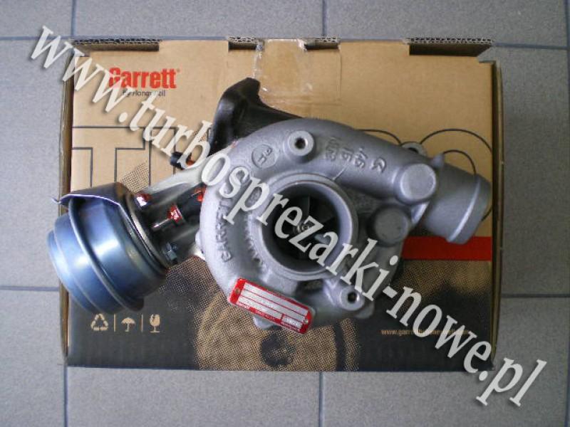 Turbosprężarka GARRETT Original Reman_454231-0001_ 454231-0002_ 454231-0003